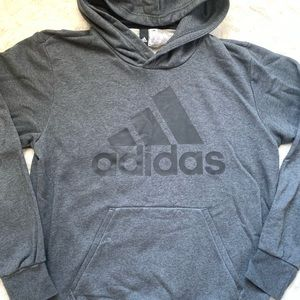 Adidas Gray/ Charcoal Hoodie size Medium